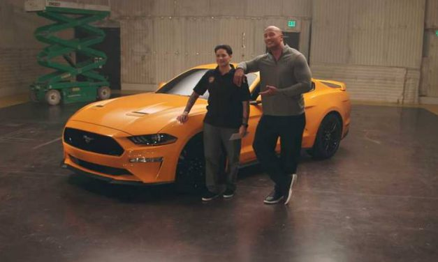 Dwayne 'The Rock' Johnson Gave an Injured Veteran a 2018 Ford Mustang
