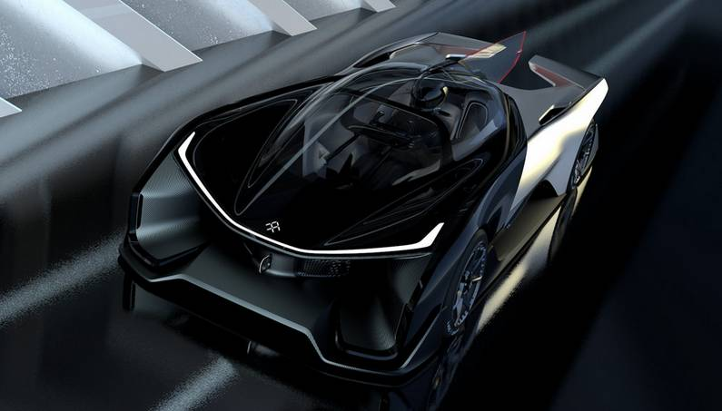 FFZERO1: A Car Full of Concepts