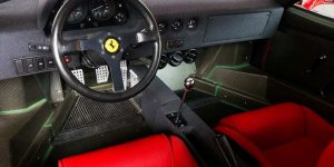 Ferrari F40 – The Most Iconic Supercar-interior 06