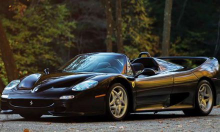 Extremely Rare Black Ferrari F50 Valued At More Than $3 Million