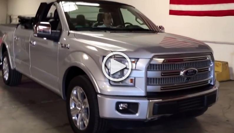 Someone Actually Made Convertible F-150