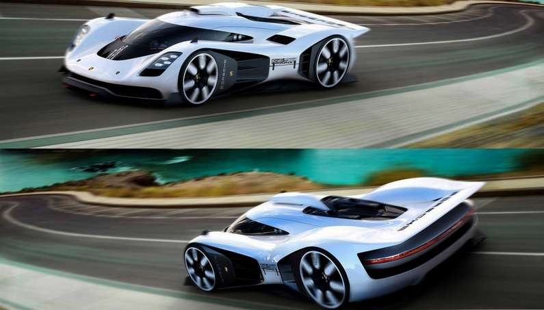 Can the Porsche GT Vision 906/917 Be Successor To The 918 Spyder?