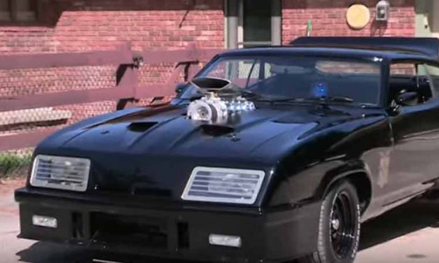 Mad Max Fan Builds His Own Interceptor Falcon