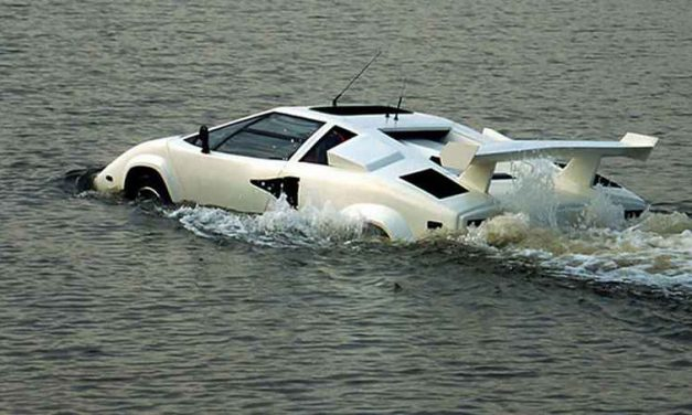 Amphibious Lamborghini Countach Up For Sale On eBay