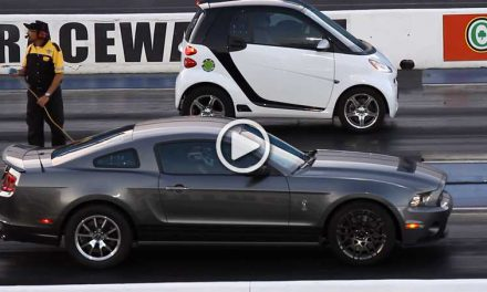 "Outstanding ""BLOWN"" Smart Car Outruns Ford Mustang"