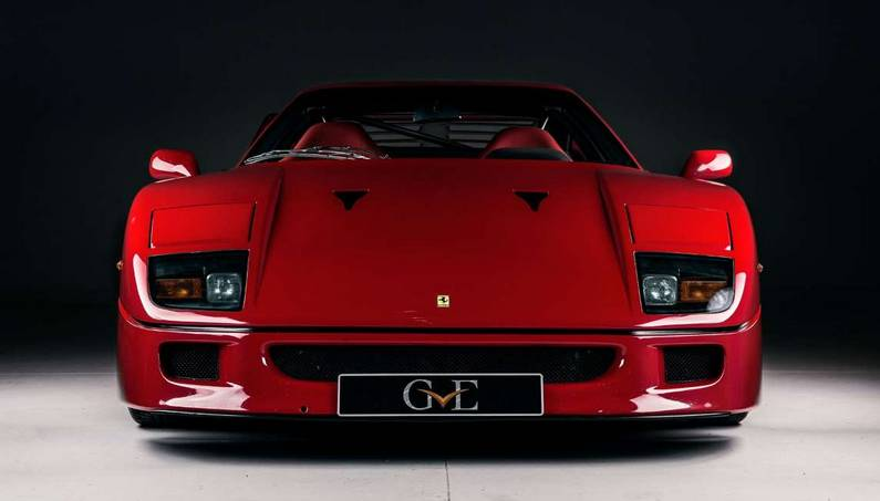 A Ferrari F40 Owned by Eric Clapton Could Be Yours