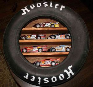 Hoosier Tire Shelf-made-from-car-tyres