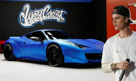 Justin Bieber Is Selling His Modified Ferrari 458