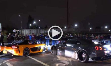 Meet Liberty Walk Nissan R35 GT-R and Mazda RX7 Fortune by VeilSide