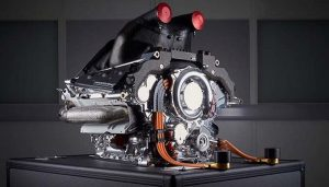 Mercedes F1 Car-engine 03