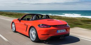 Porsche 718 Boxster Convertible 2.5 S-photo 02