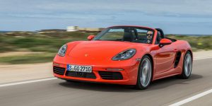 Porsche 718 Boxster Convertible 2.5 S-photo 03