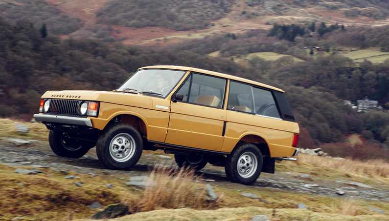 Completely Restored First-Generation Range Rovers