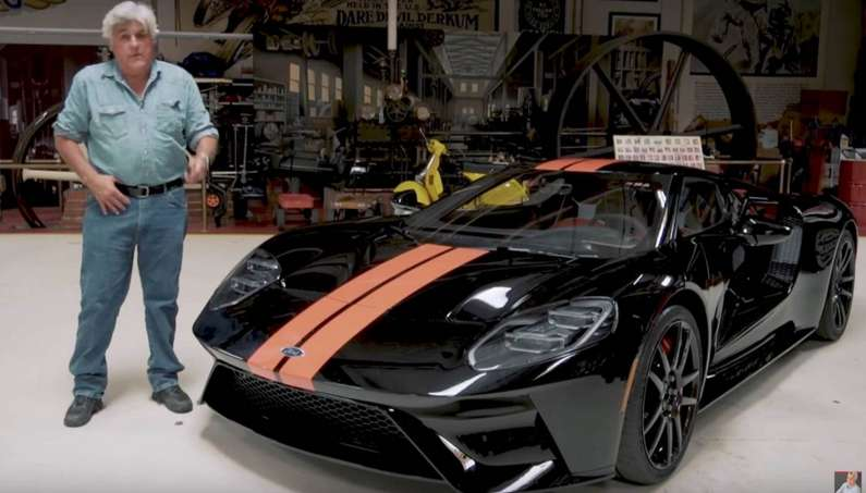 2017 Ford GT Now Belongs To Jay Leno