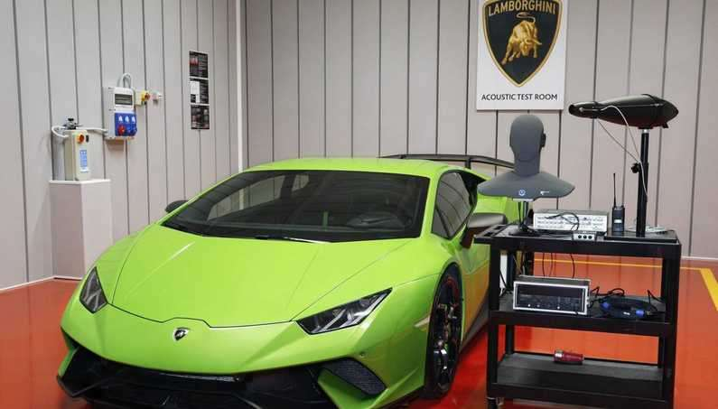 Lamborghini To Open Acoustic Test Room to Make Its Cars Sound Even Sexier