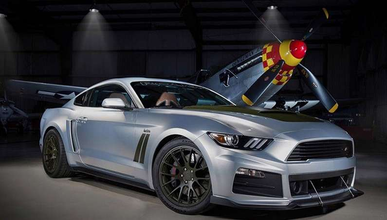 "2017 ROUSH P-51 Mustang: ""Combat Aircraft"" with 727-hp"