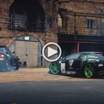 Morning Drift: Lamborghini Murcielago and Nissan GT-R In a Combat!