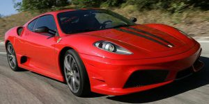 Ferrari 430 Scuderia red photo